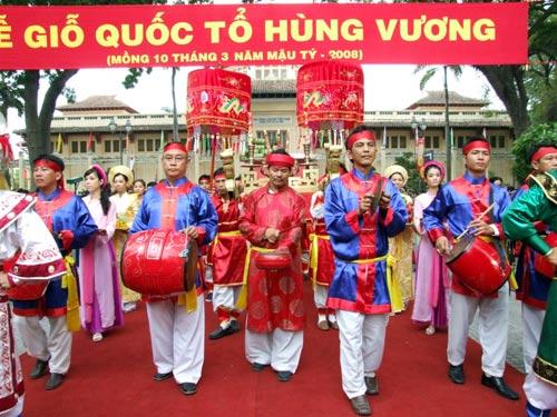 Lễ hội đền Hùng – Cội nguồn văn hóa , lịch sử