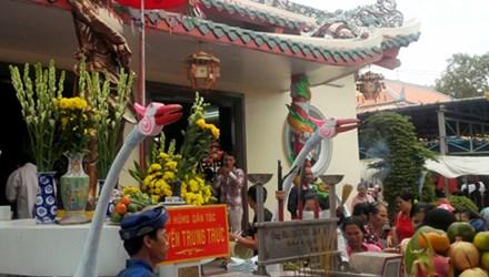 Lễ hội đền thờ Nguyễn Trung Trực ở Phú Quốc