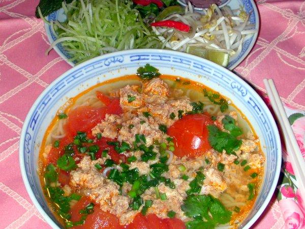 Du lịch Thiên Cầm – Tôm nấu riêu