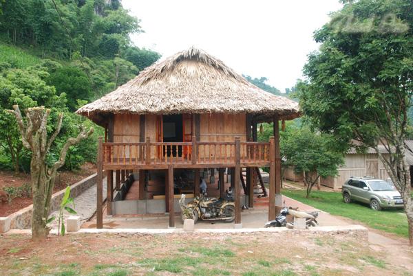 Nhà sàn homestay ở Mộc Châu