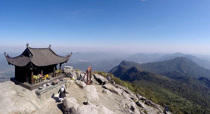 Linh thiêng trên đỉnh Chùa Đồng