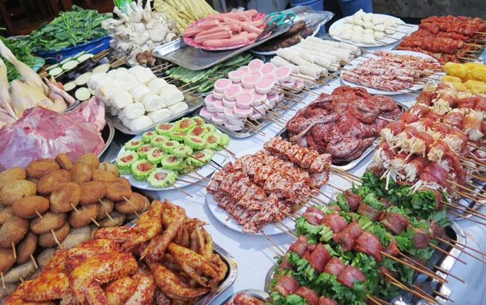 Đồ nướng Sapa phong phú và đa dạng