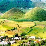 Vẻ đẹp tình mẫu tử của núi Đôi Quản Bạ Hà Giang